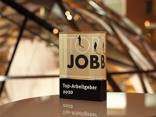 medi ist TOP JOB-Arbeitgeber 2020